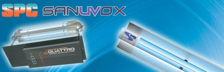 SPC Sanuvox Air and Object Sterilisation